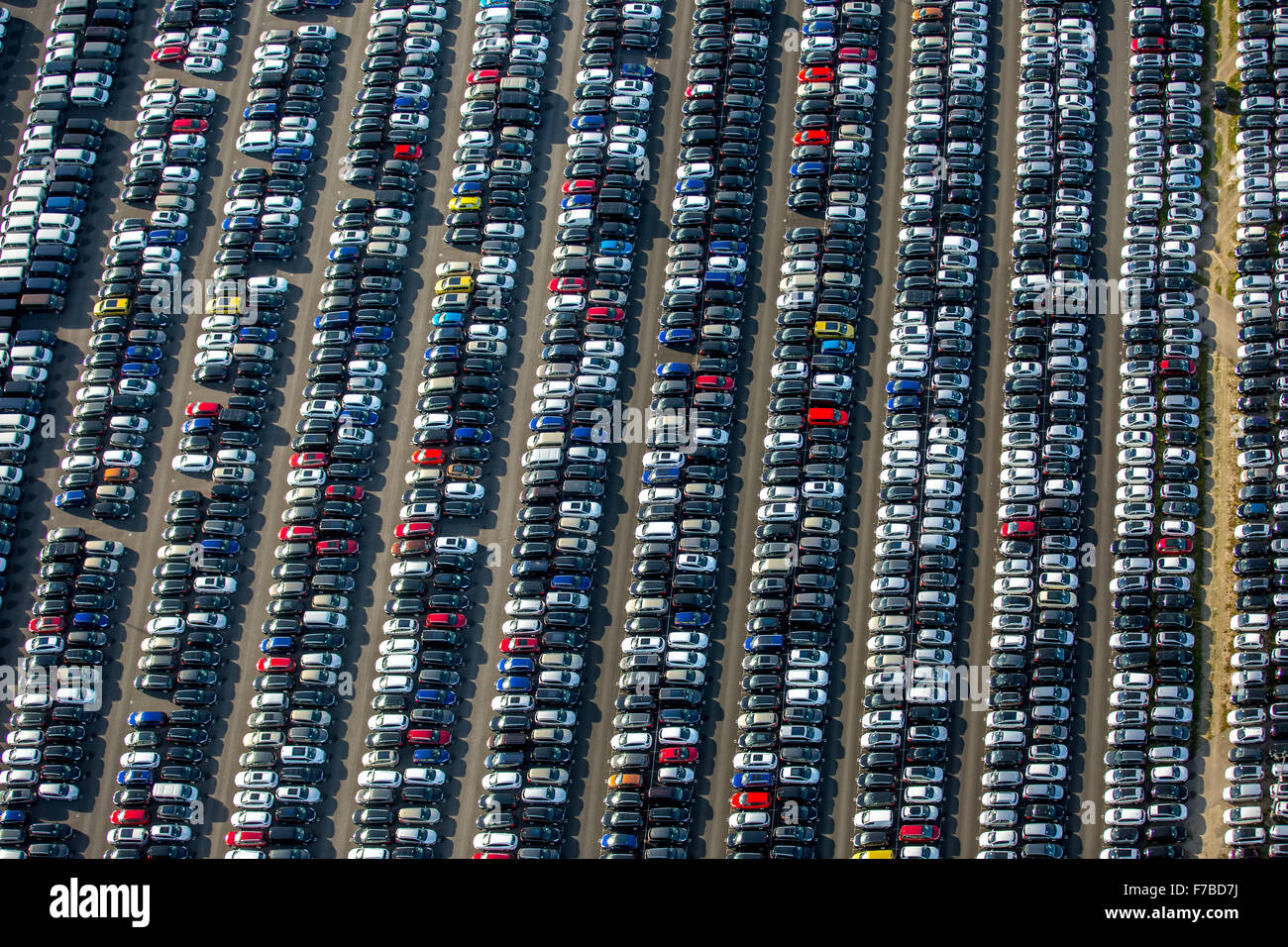 Car Importer, car trade, large parking, car sales, new car, car ...