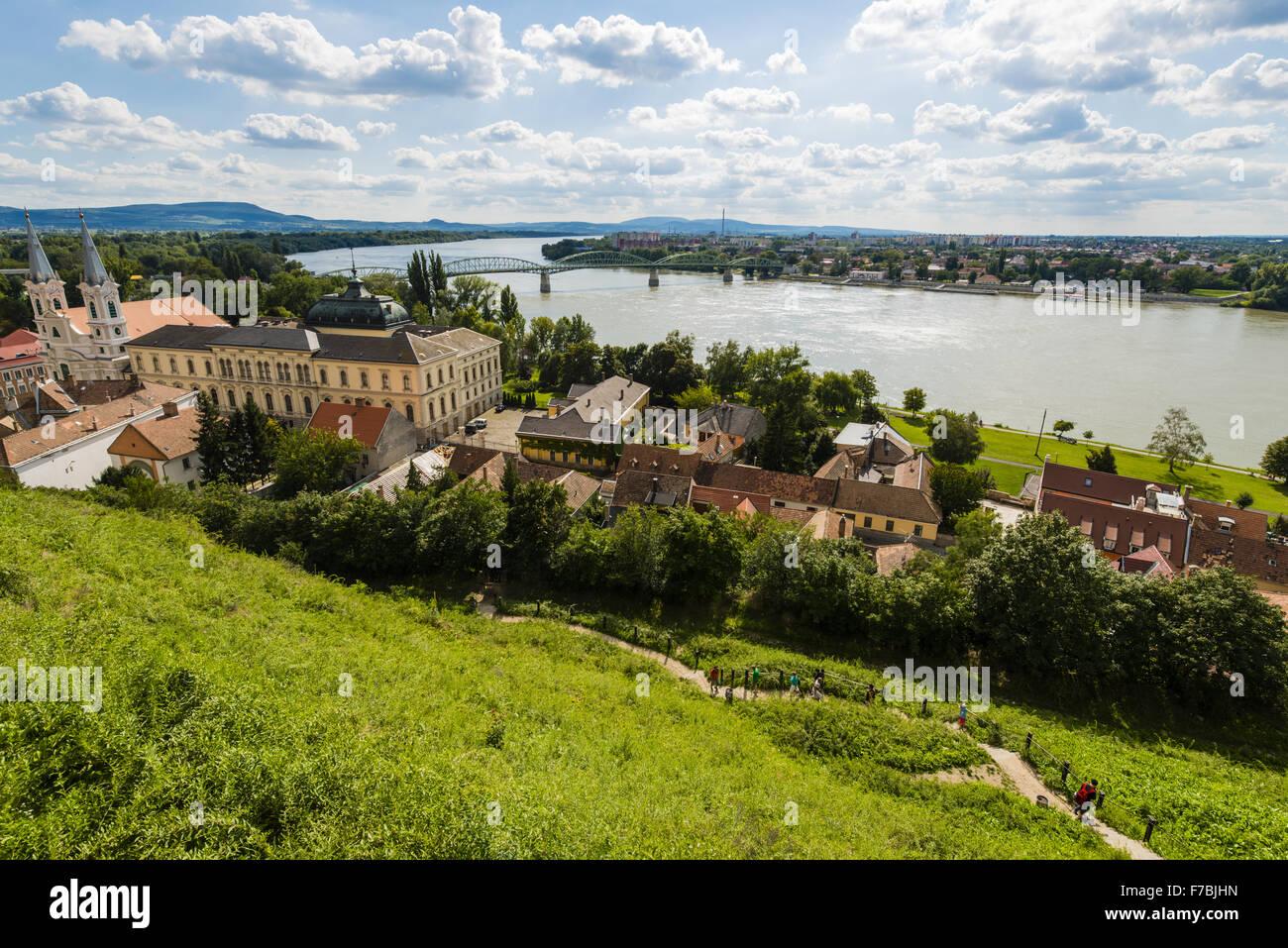 Esztergom Hungary Western Hungary Stock Photo Royalty