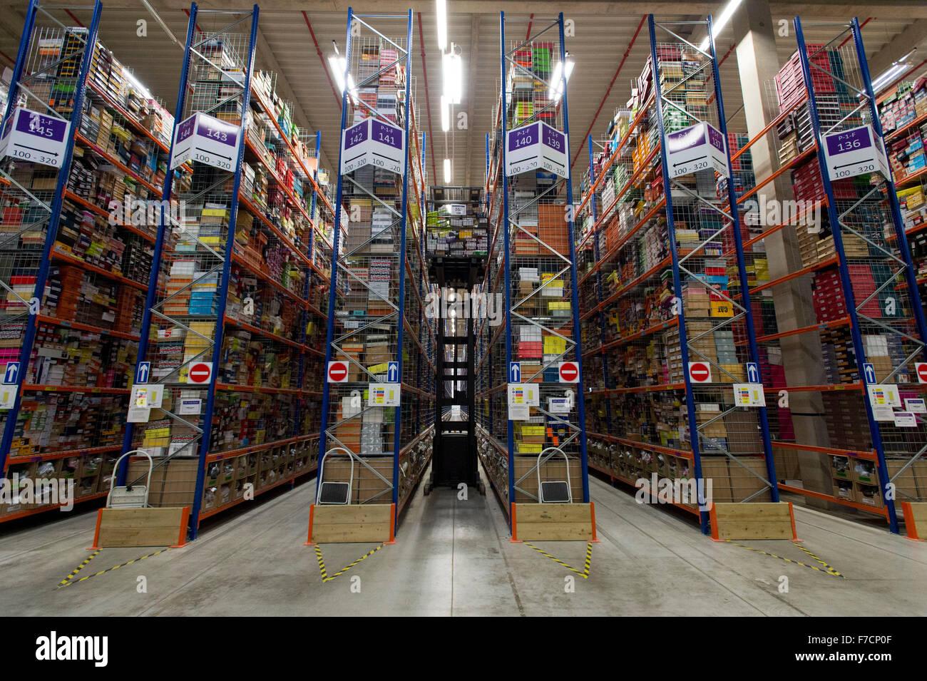 The Amazon warehouse fulfillment centre in Swansea, South ...