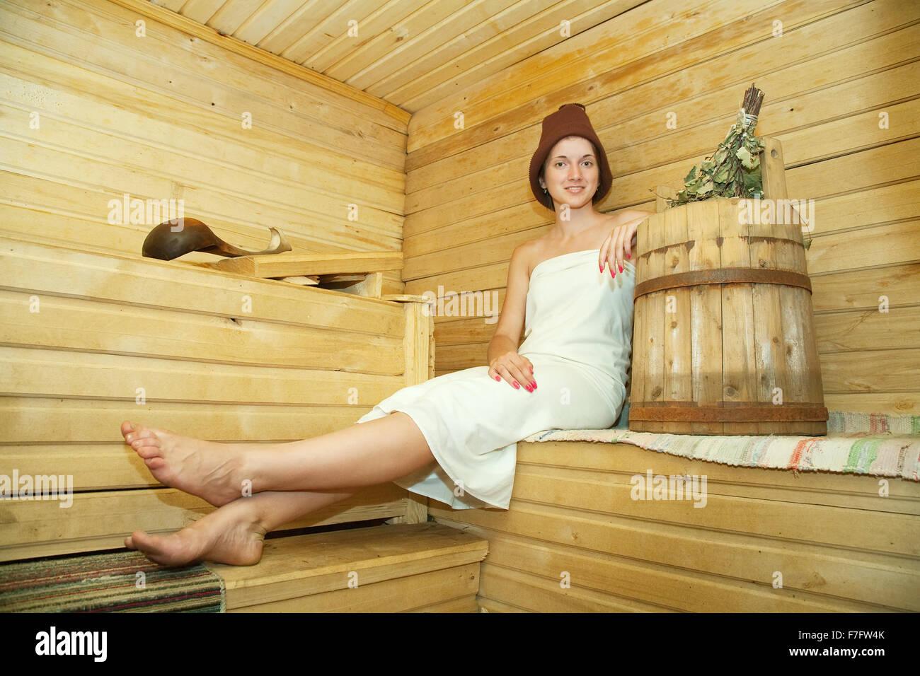 Русская баня фото с девушками