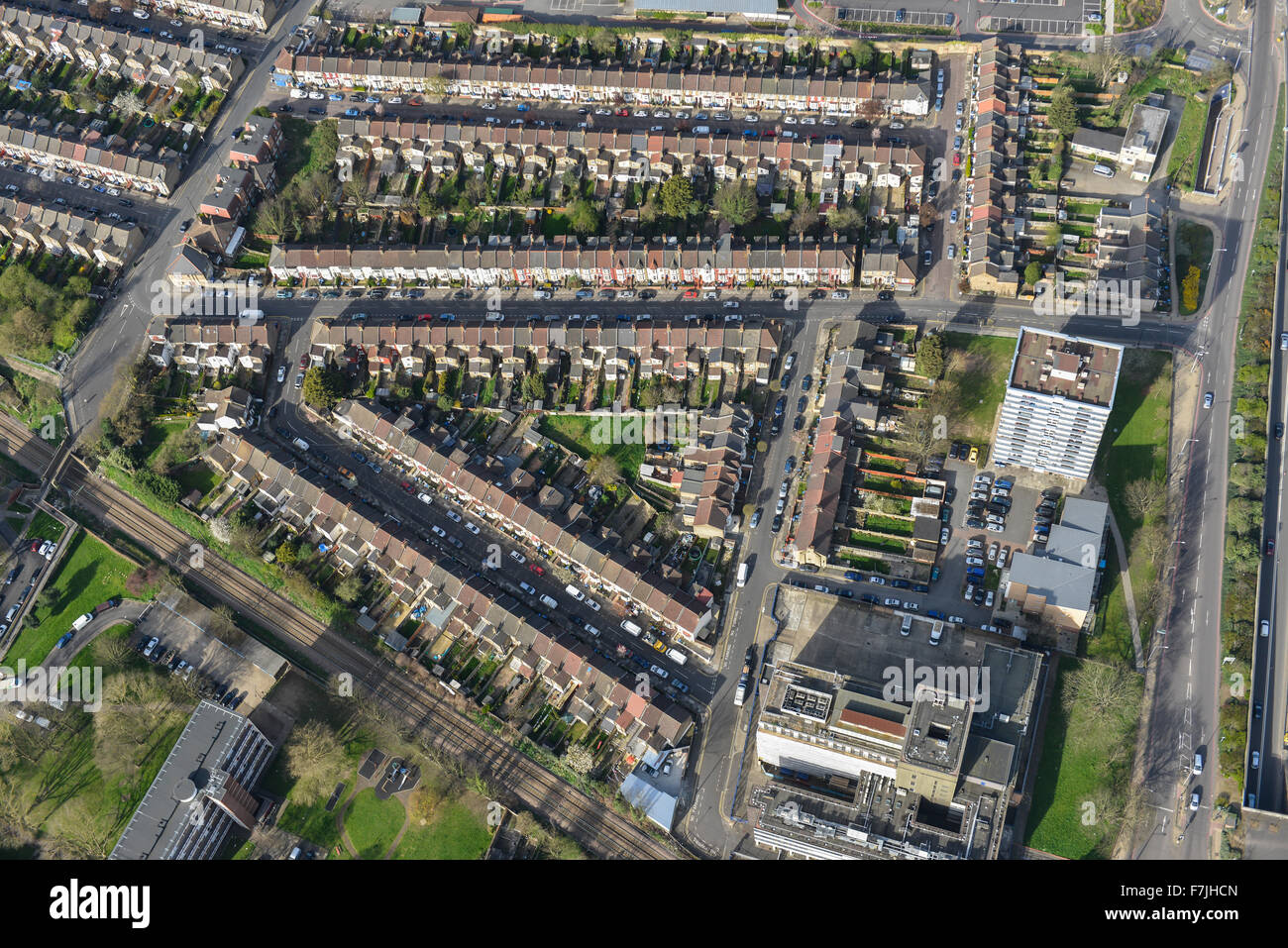 An aerial view of housing near silver street station in for 63 alexandra terrace harbourlink warehouse
