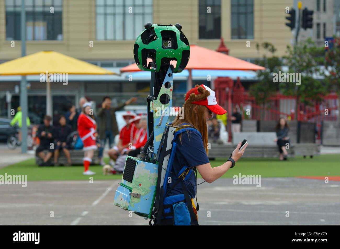 Auckland New Zealand Nd December Google Street View - Live street maps google earth