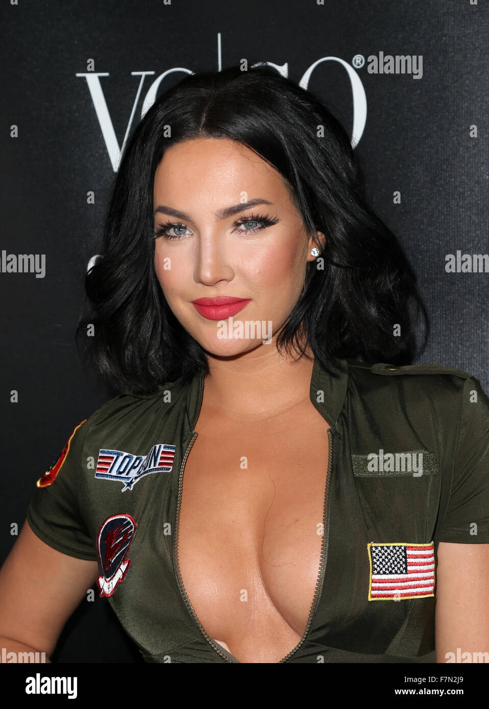 stock photo voco presents alessandra ambrosios heaven and hell halloween party featuring natalie halcro where west hollywood california - Halloween Parties In Hollywood