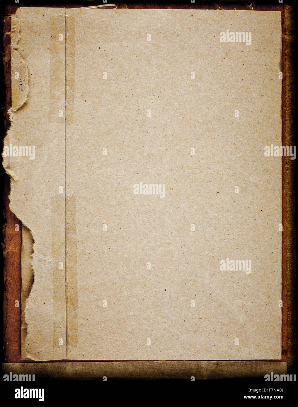 Old Sepia Toned Historic Blank Paper Background  Blank Paper Background