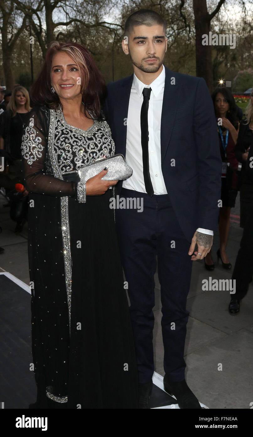 apr 17 2015 london england uk zayn malik and trisha
