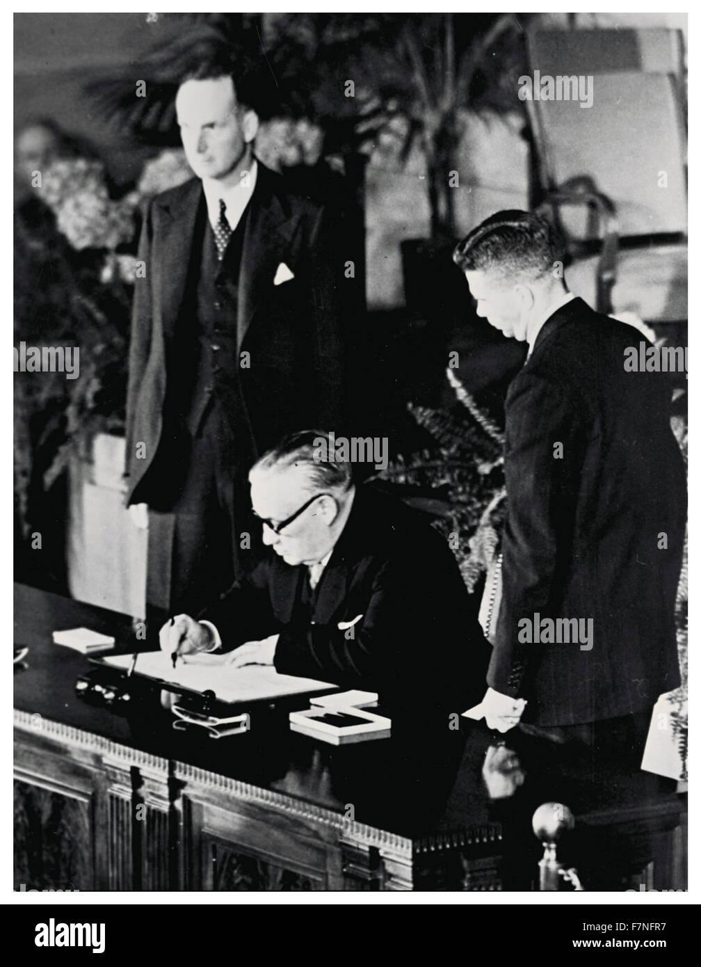A history of the treaty of washington and the formation of north atlantic treaty organization
