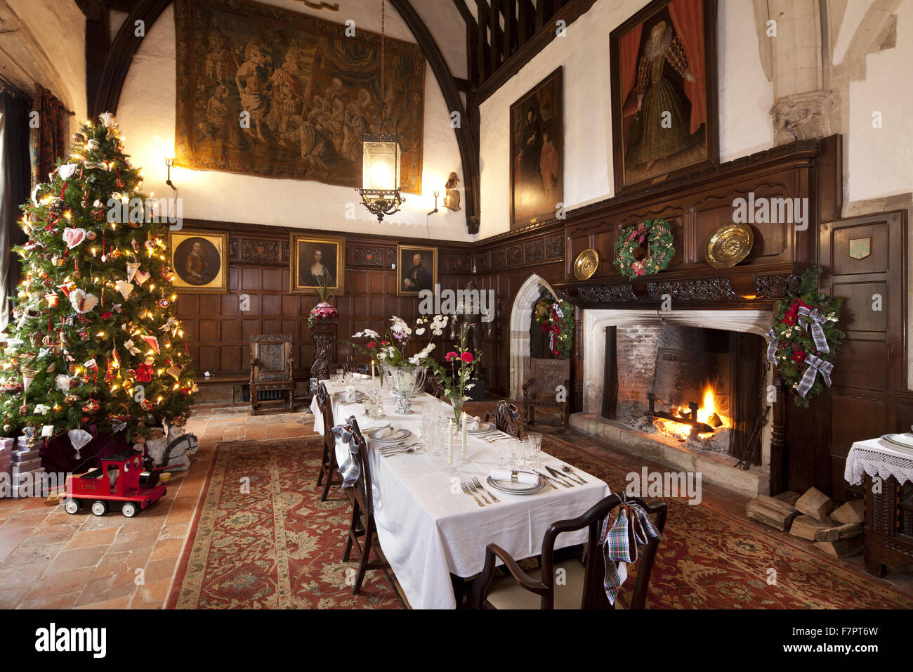 Christmas At Ightham Mote Kent Ightham Mote Is A