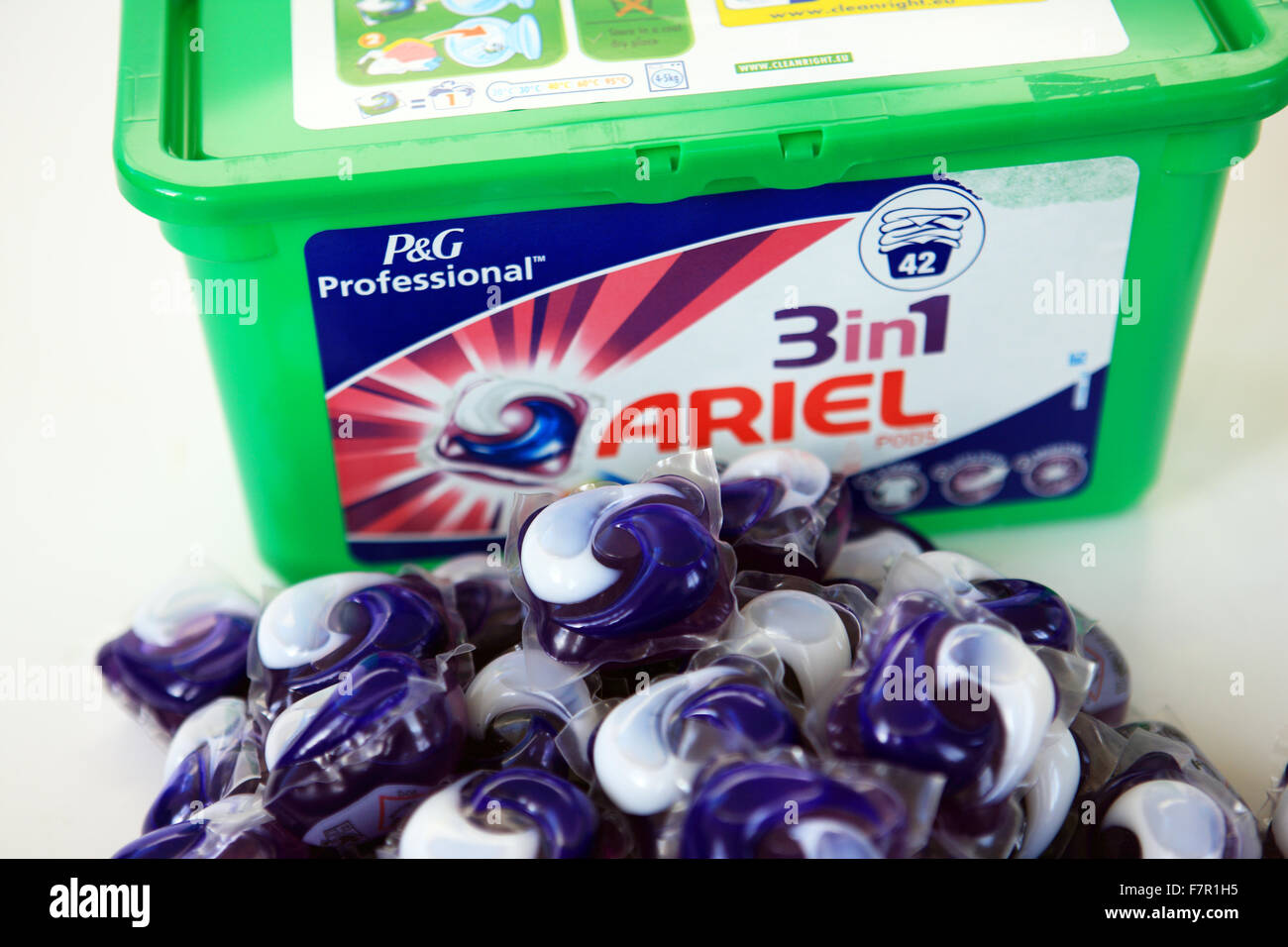 ariel laundry detergent Here's a quick quiz: if you use procter & gamble's ariel usa laundry detergent, should you use 1/2 cup, 1/4 cup or 1/5 cup of detergent for a medium-size load.