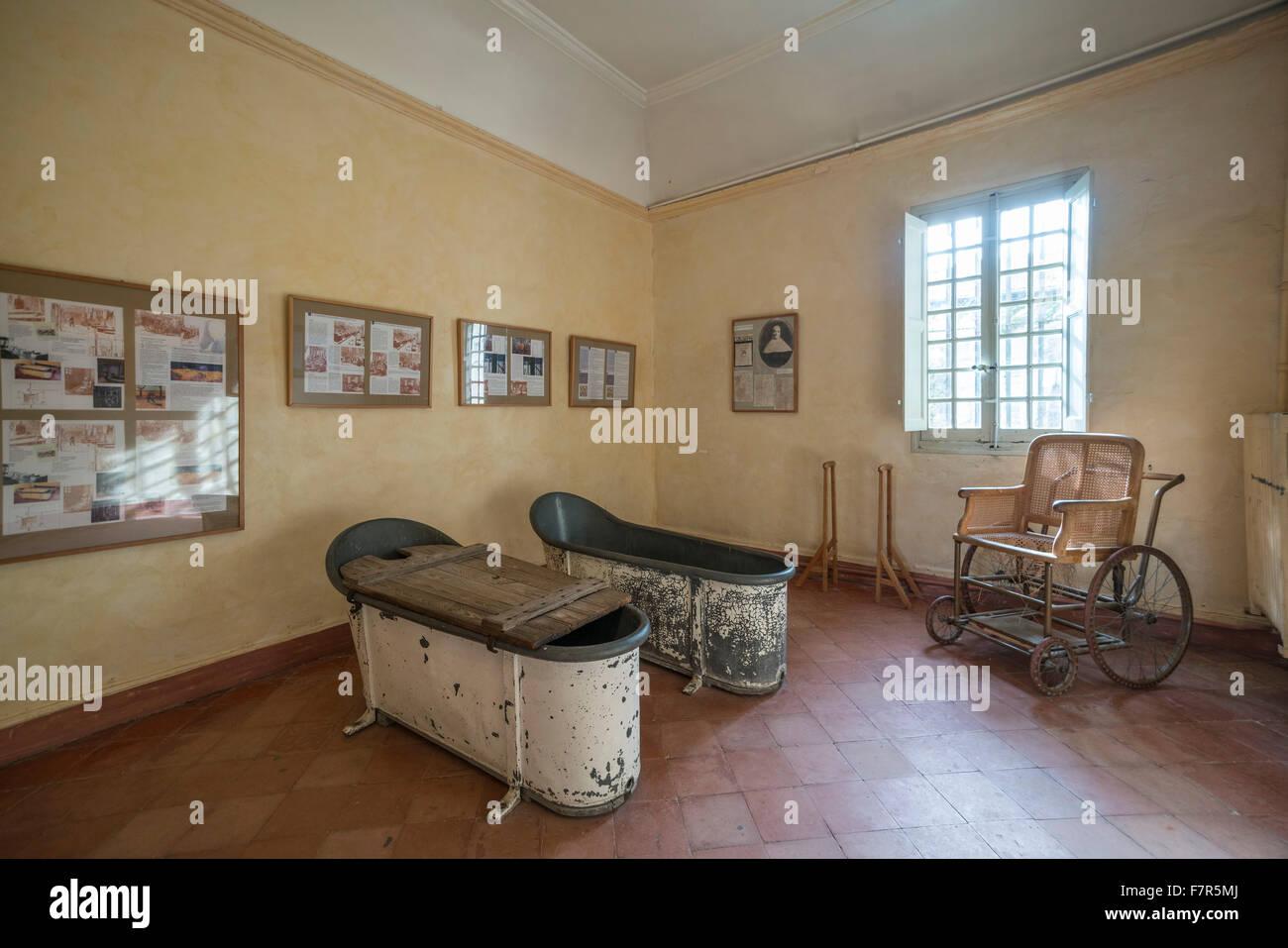 Bath Tubes In Asylum Of Vincent Van Gogh In St Paul De
