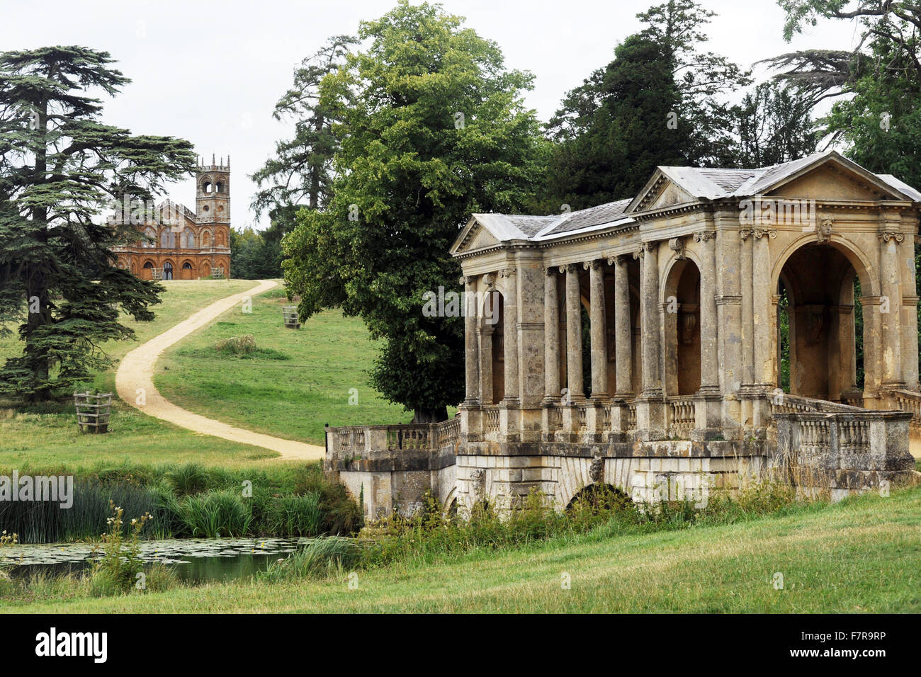 Beautiful Stock Photo   The Palladian Bridge At Stowe, Buckinghamshire. Stowe Is An  18th Century Landscape Garden, Featuring More Than 40 Historic Temples And  ... Amazing Design