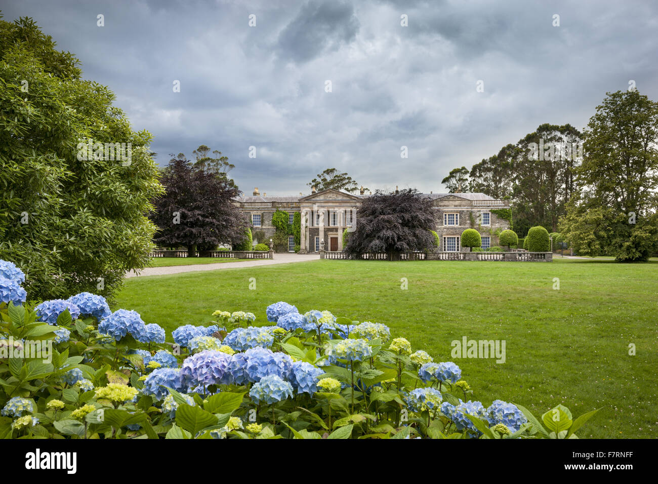 The north front at Mount Stewart County Down Mount Stewart has