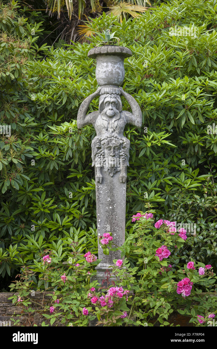 Statuary in the formal garden at Mount Stewart County Down Mount