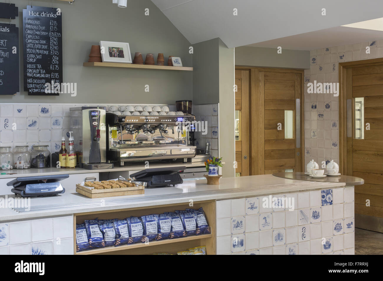 The Garden Kitchen The Garden Kitchen Cafe At Packwood House Warwickshire Stock
