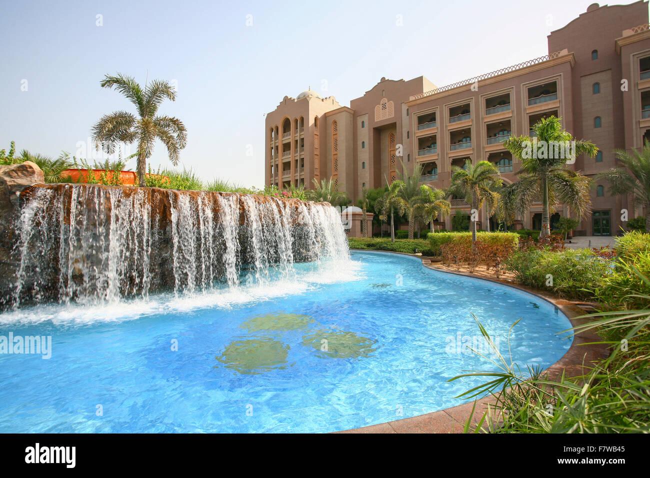 Swimming Pool In Emirates Palace Hotel Abu Dhabi United Arab Stock Photo Royalty Free Image
