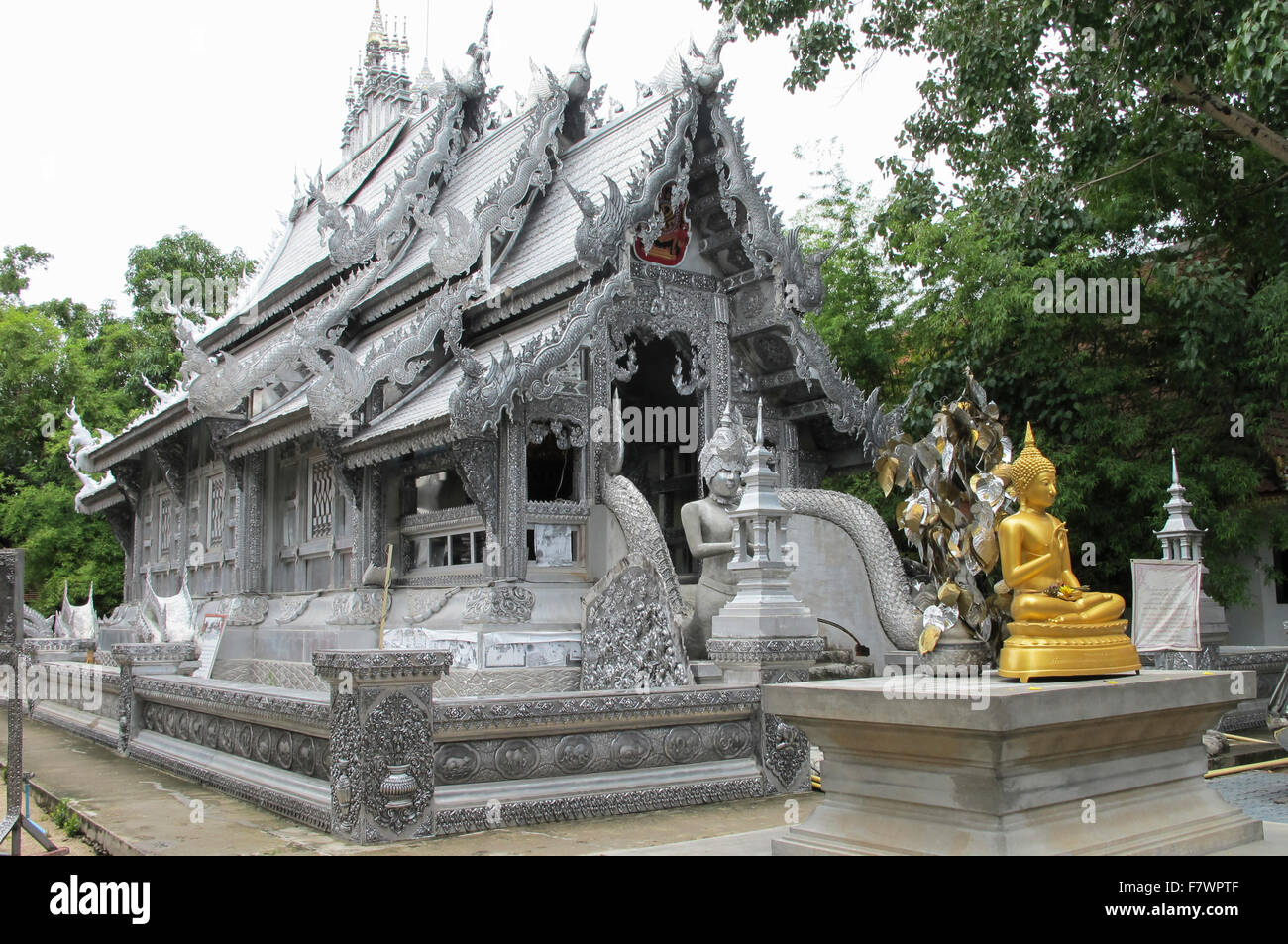 Wat Sri Suphan in Chiang Mai, Thailand Stock Photo, Royalty Free Image: 90921...