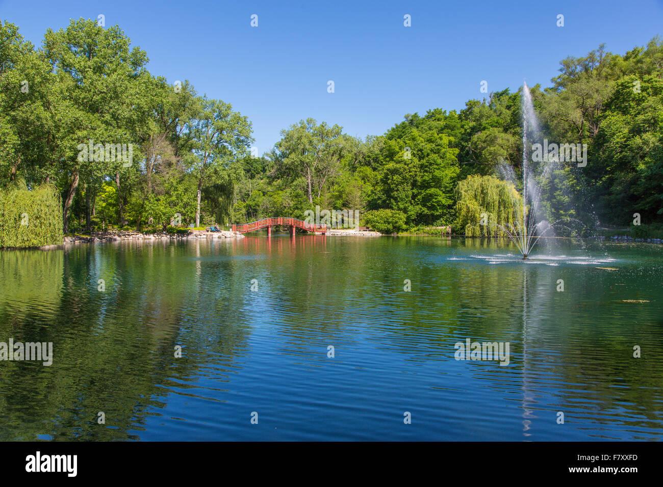 Rotary Botanical Gardens In Janesville Illinois