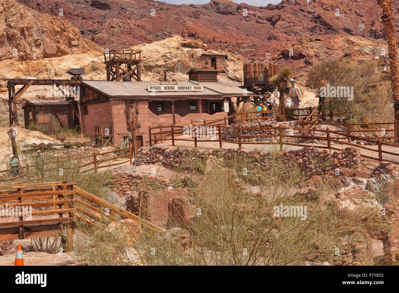 Ghost Town In The Nevada Desert Historical Abandoned Mining Town – Tourist Attractions Near Las Vegas