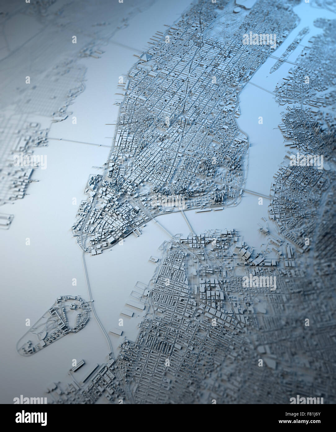 New York D Map On Background Manhattan Stock Photo Royalty Free - New york map in 3d