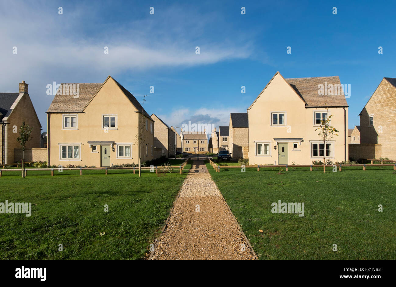 New housing development by bloor homes on the outskirts of for New housing developments