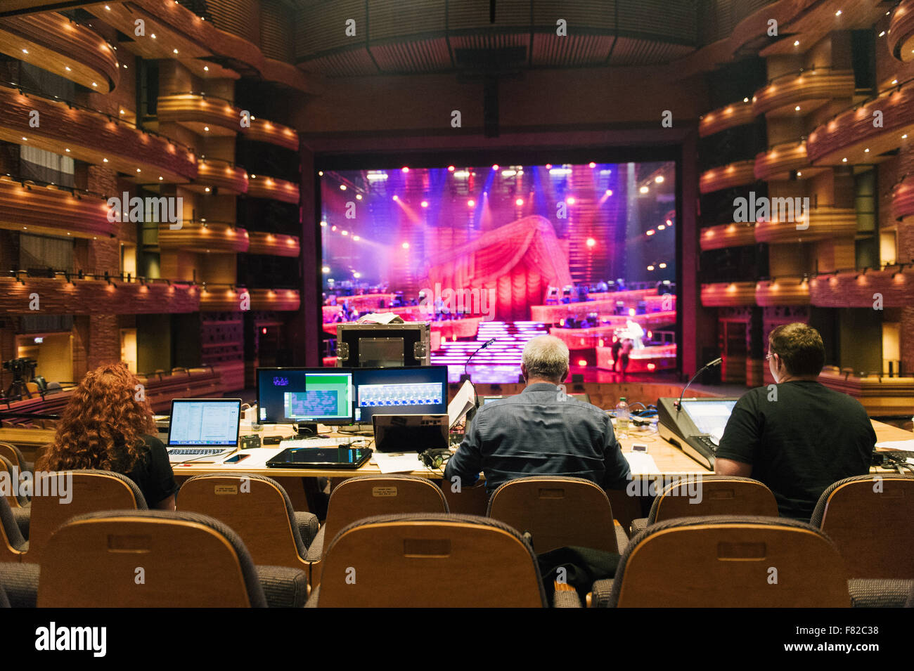 A View From The Front Of House Desk In The Donald Gordon Theatre - Front of house theatre