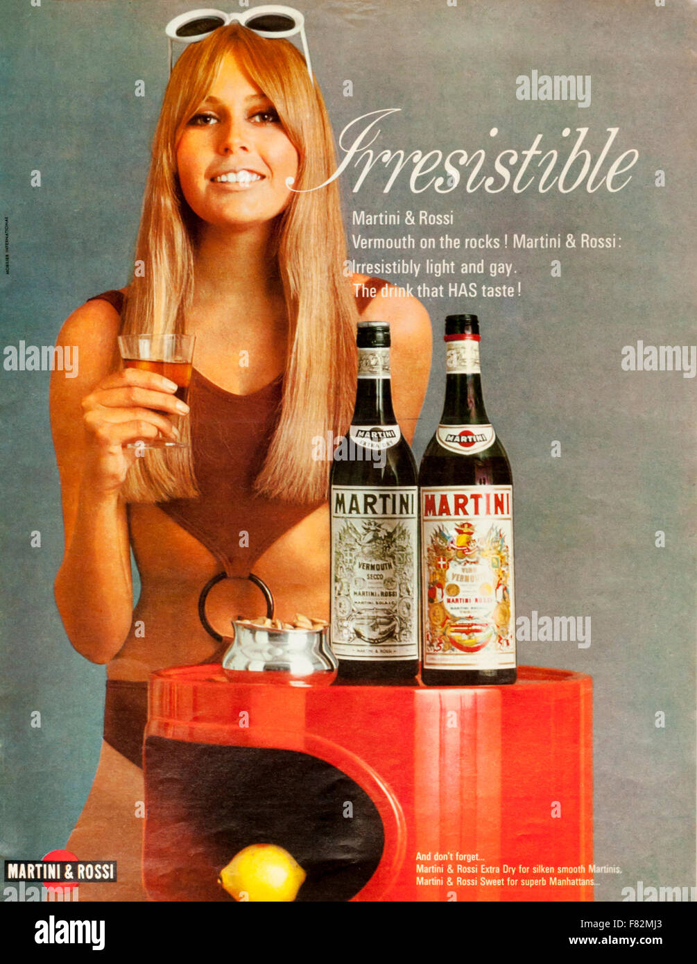 1960s Magazine Advertisement Advertising Martini & Rossi Vermouth ...