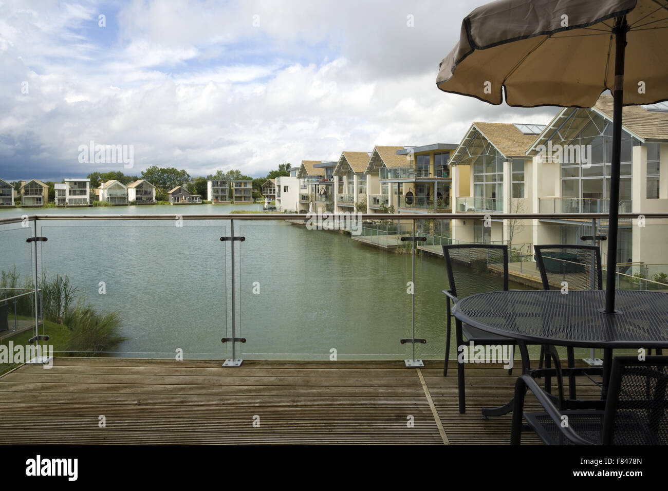 Holiday Homes On Lower Mill Estate Development The Cotswold Water Park Near Cirencester Gloucestershire