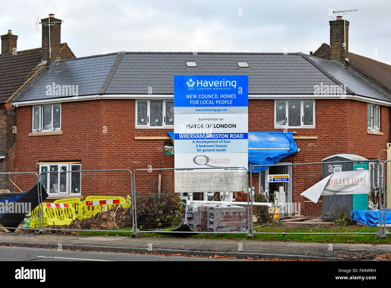 New homes for local people on existing harold hill romford for Local house builders