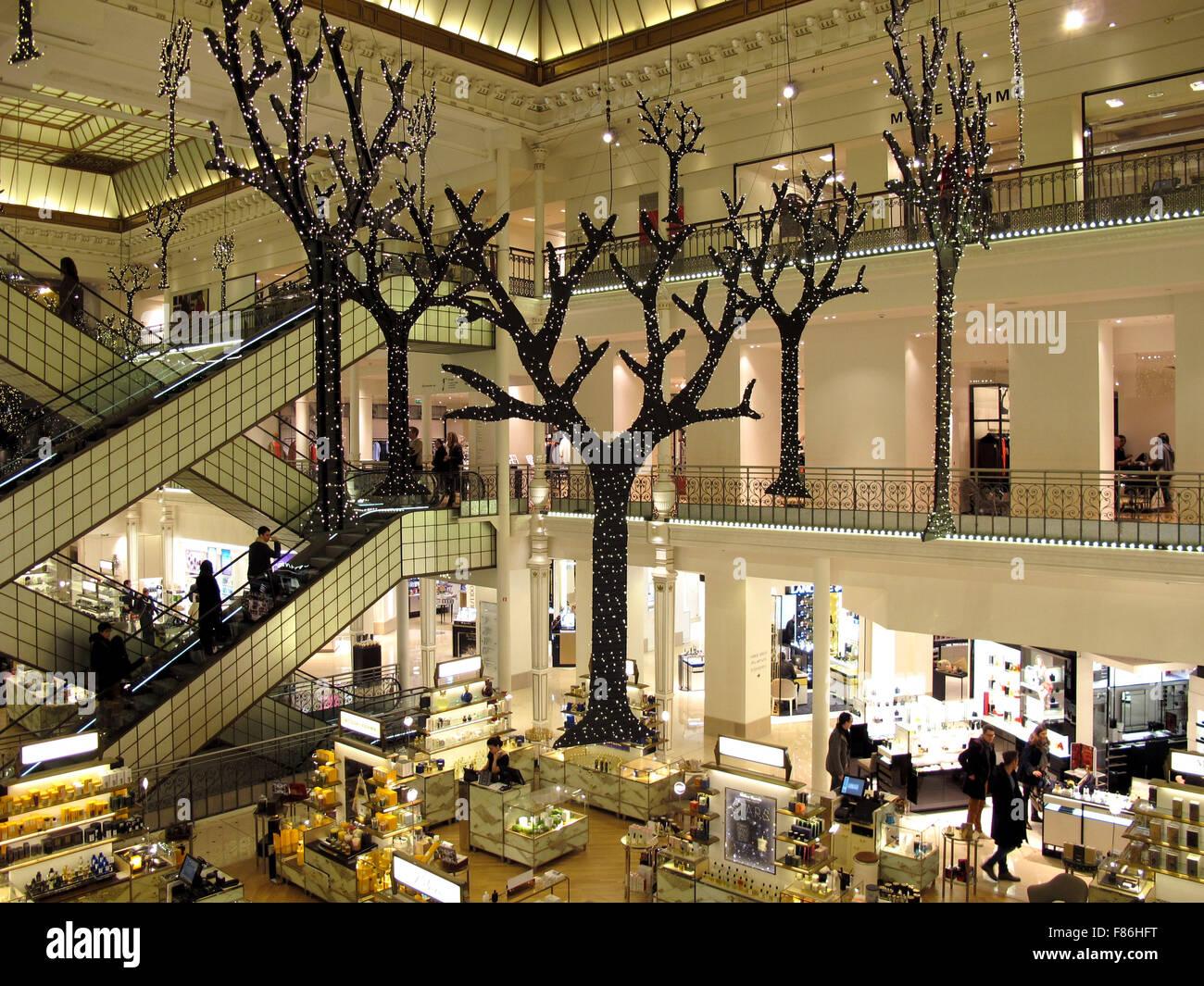 Le Bon Marche Department store Christmas decoration Paris
