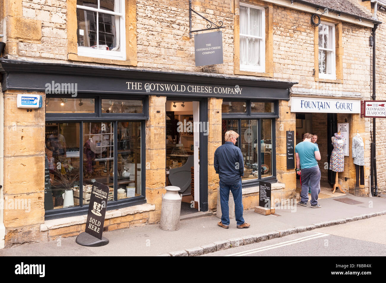 the cotswold cheese company shop store at stow on the wold stock photo royalty free image. Black Bedroom Furniture Sets. Home Design Ideas