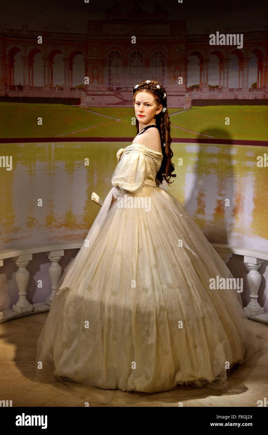 Princess Sisi Empress Elizabeth In Madame Tussauds