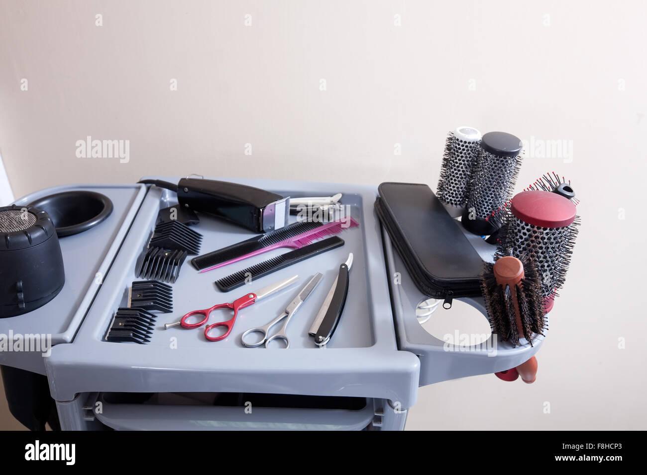 Инструменты для стрижки и прически