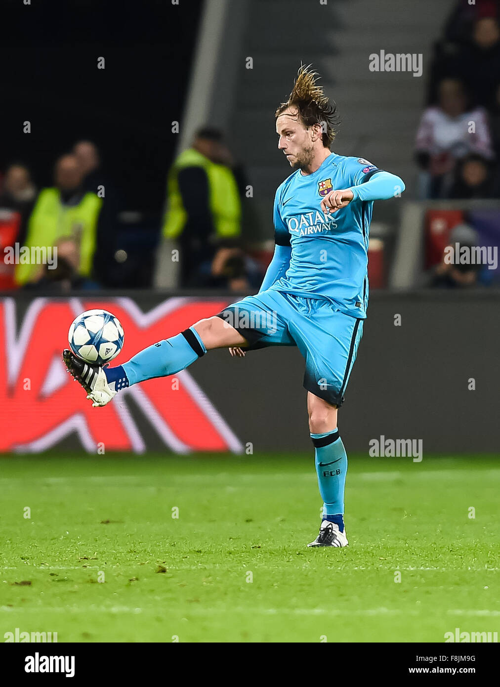 Barcelona s Ivan Rakitic in action during the UEFA Champions