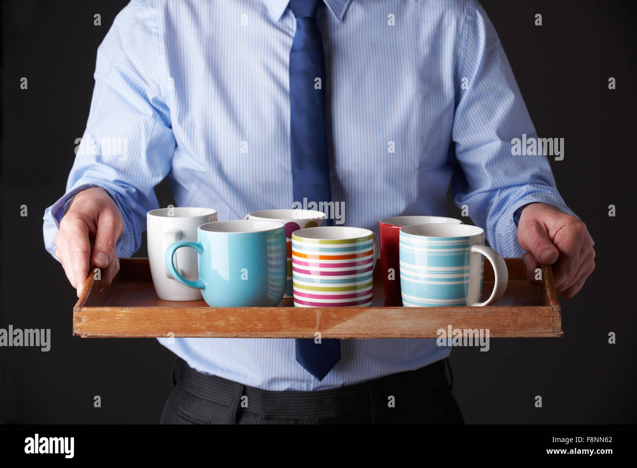 office cups. Office Junior Carrying Tray Of Cups F