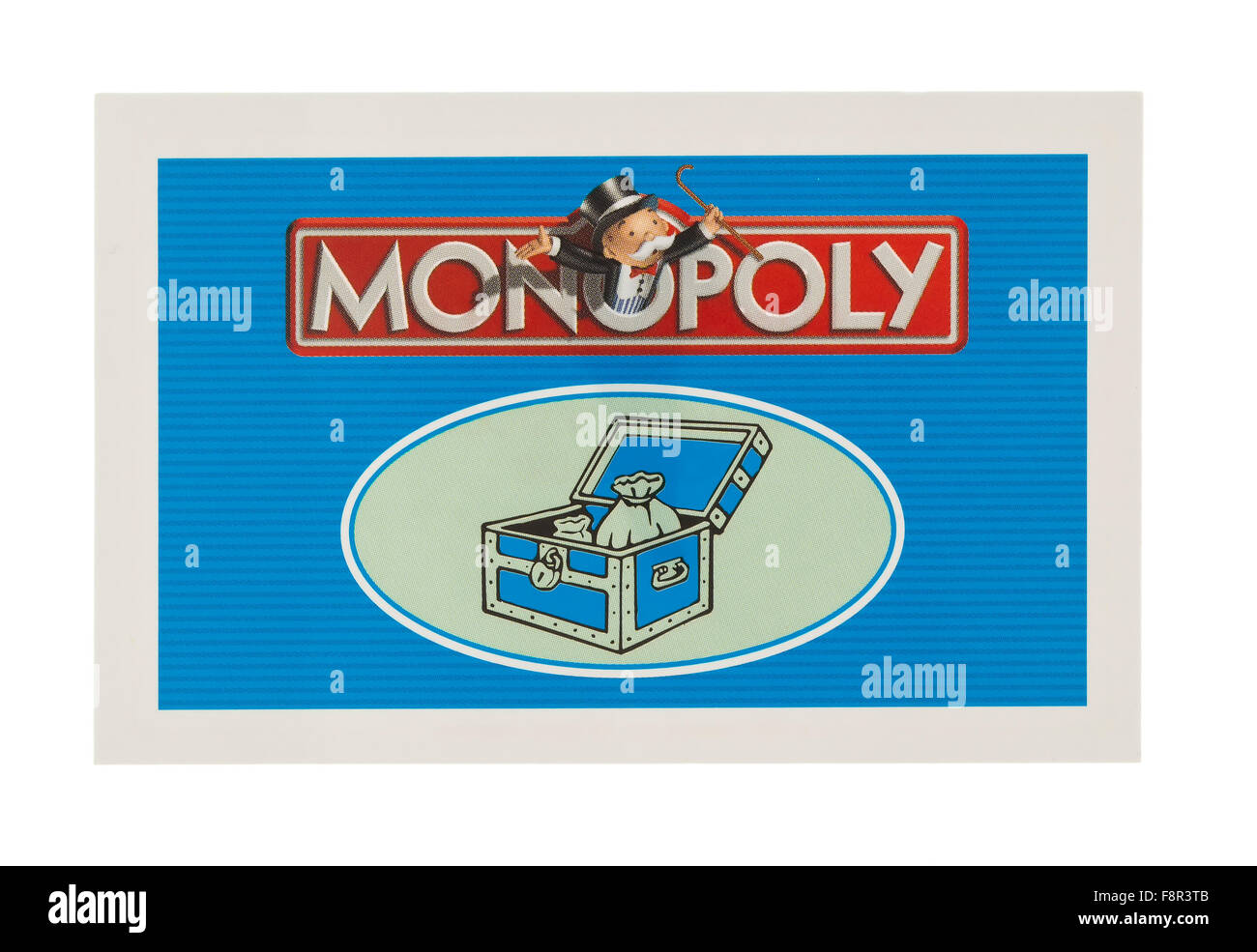english edition of monopoly showing community chest card the classic trading game from parker bro