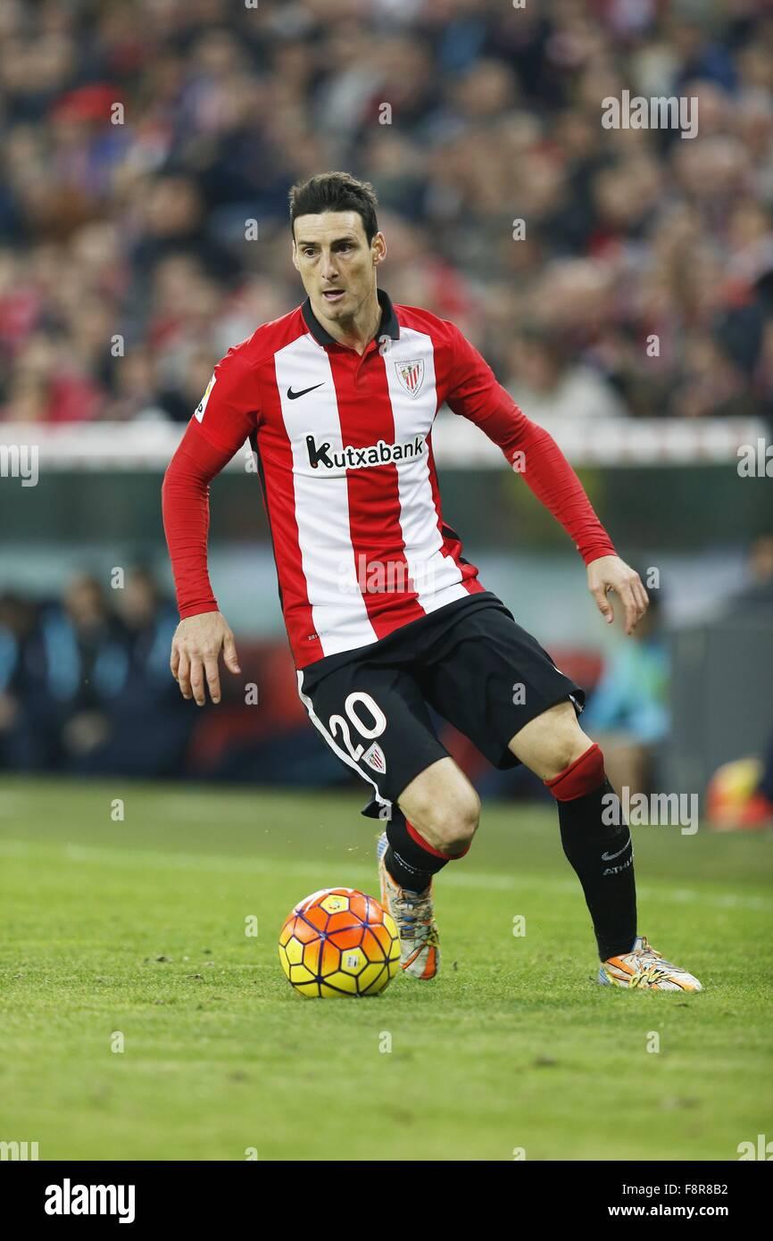 Bilbao Spain 6th Dec 2015 Aritz Aduriz Bilbao Football