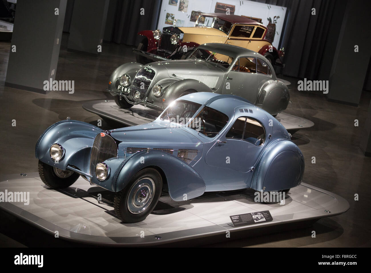 Cars in the Artistry Exhibit at the Petersen Automotive Museum ...