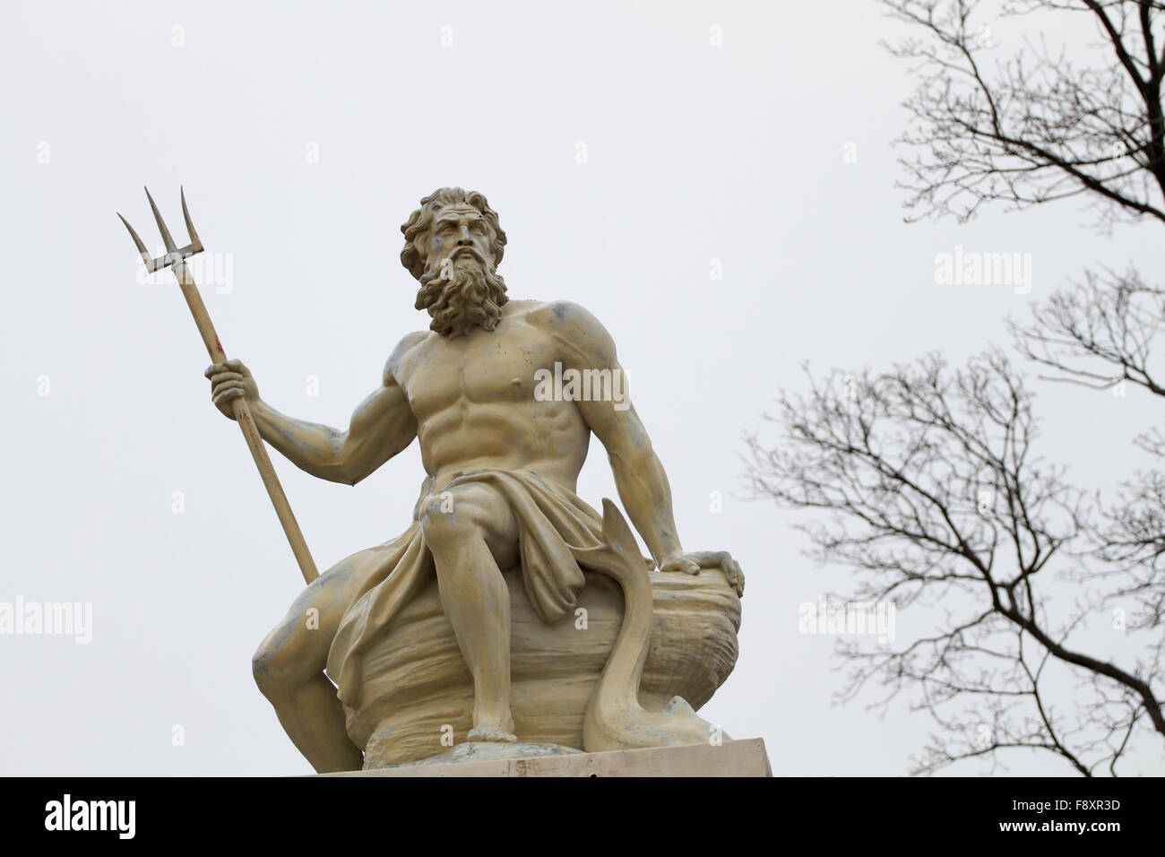 greek god poseidon statue stock photos u0026 greek god poseidon statue