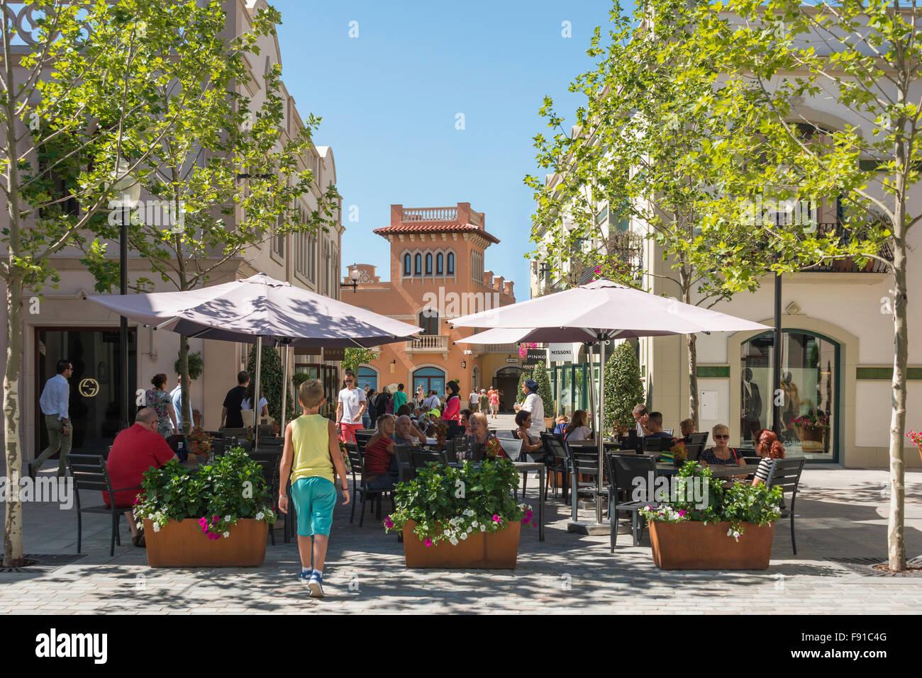 la roca village designer outlet shopping la roca del valls barcelona province of barcelona catalonia spain