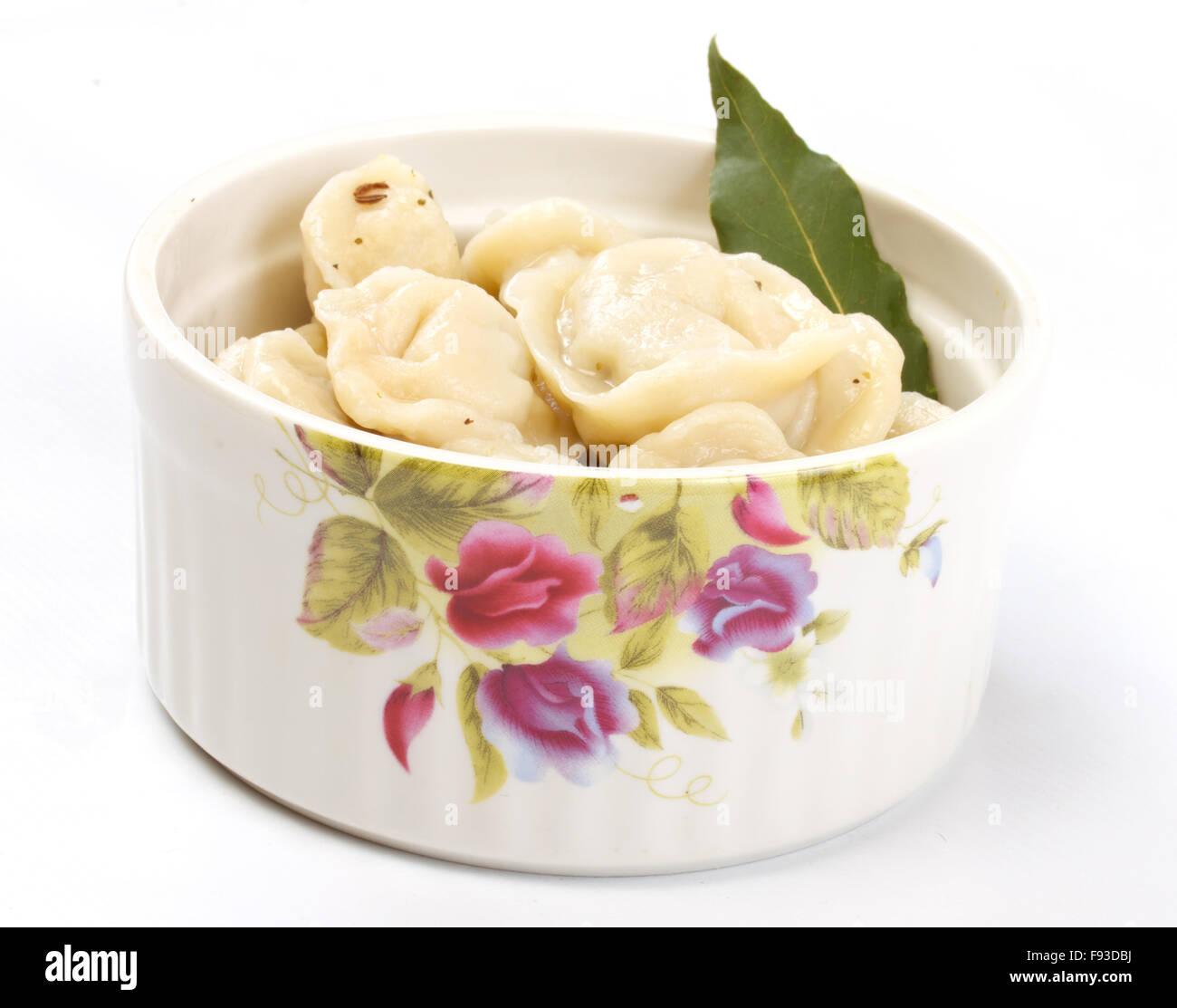 how to make russian meat dumplings