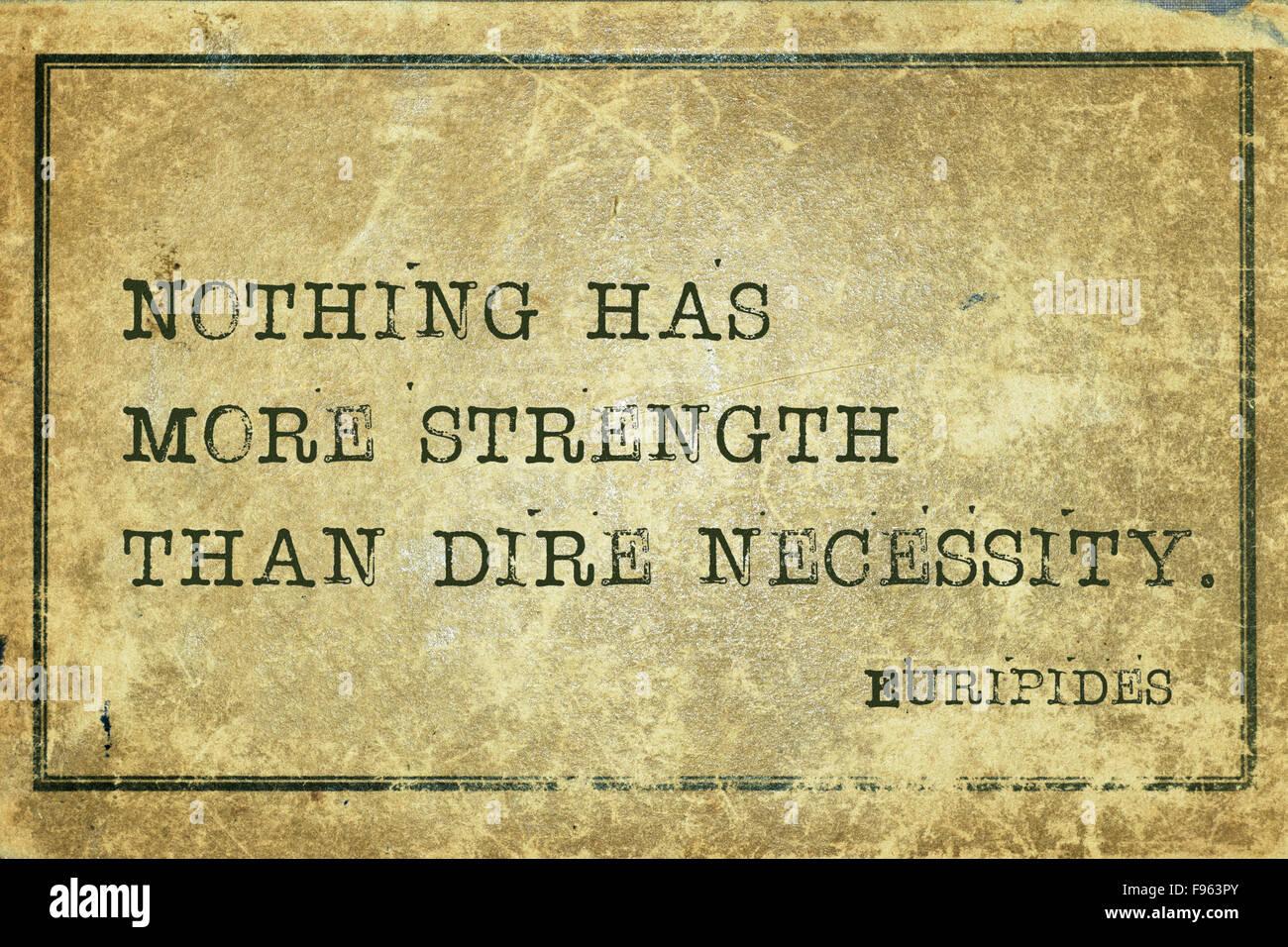 Euripides necessity