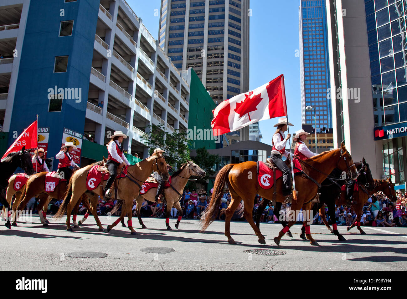 2015 Calgary Stampede Parade Calgary Alberta Canada