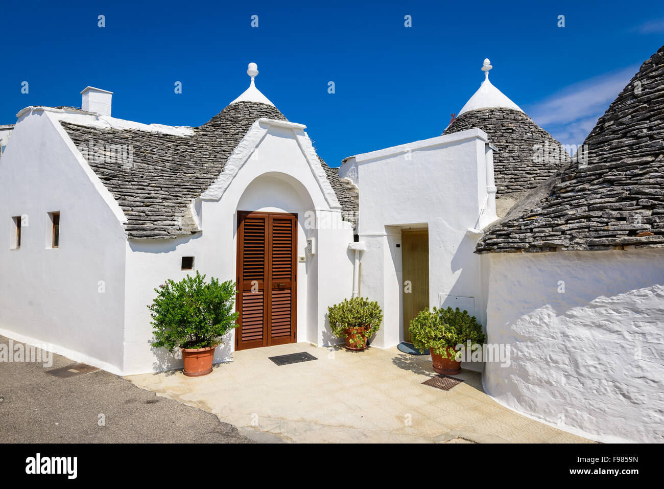 Unique Trulli houses with conical roofs a traditional Apulian dry & Alberobello Italy Puglia. Unique Trulli houses with conical ... memphite.com
