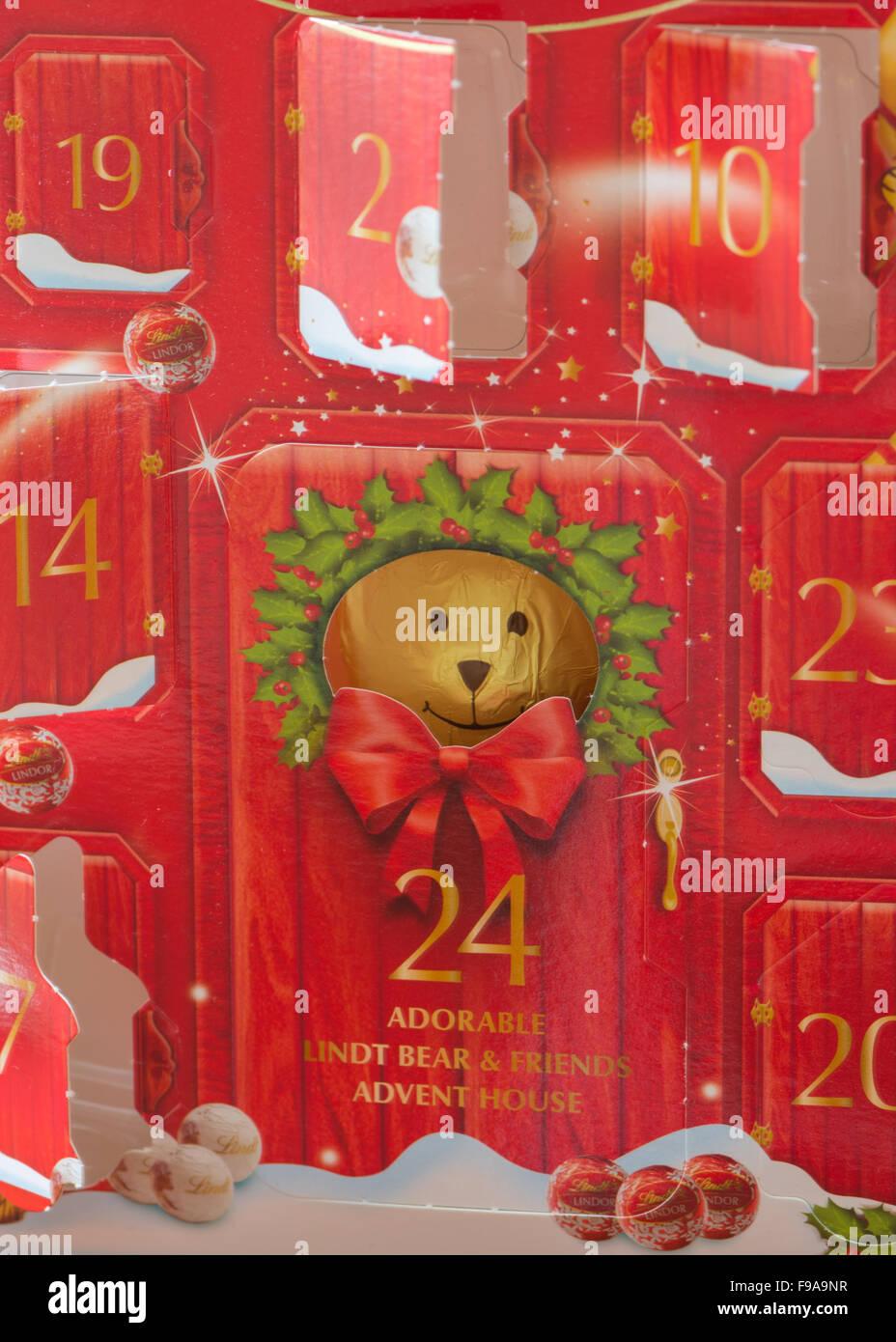 Advent Calendar Chocolate Stock Photos & Advent Calendar Chocolate ...