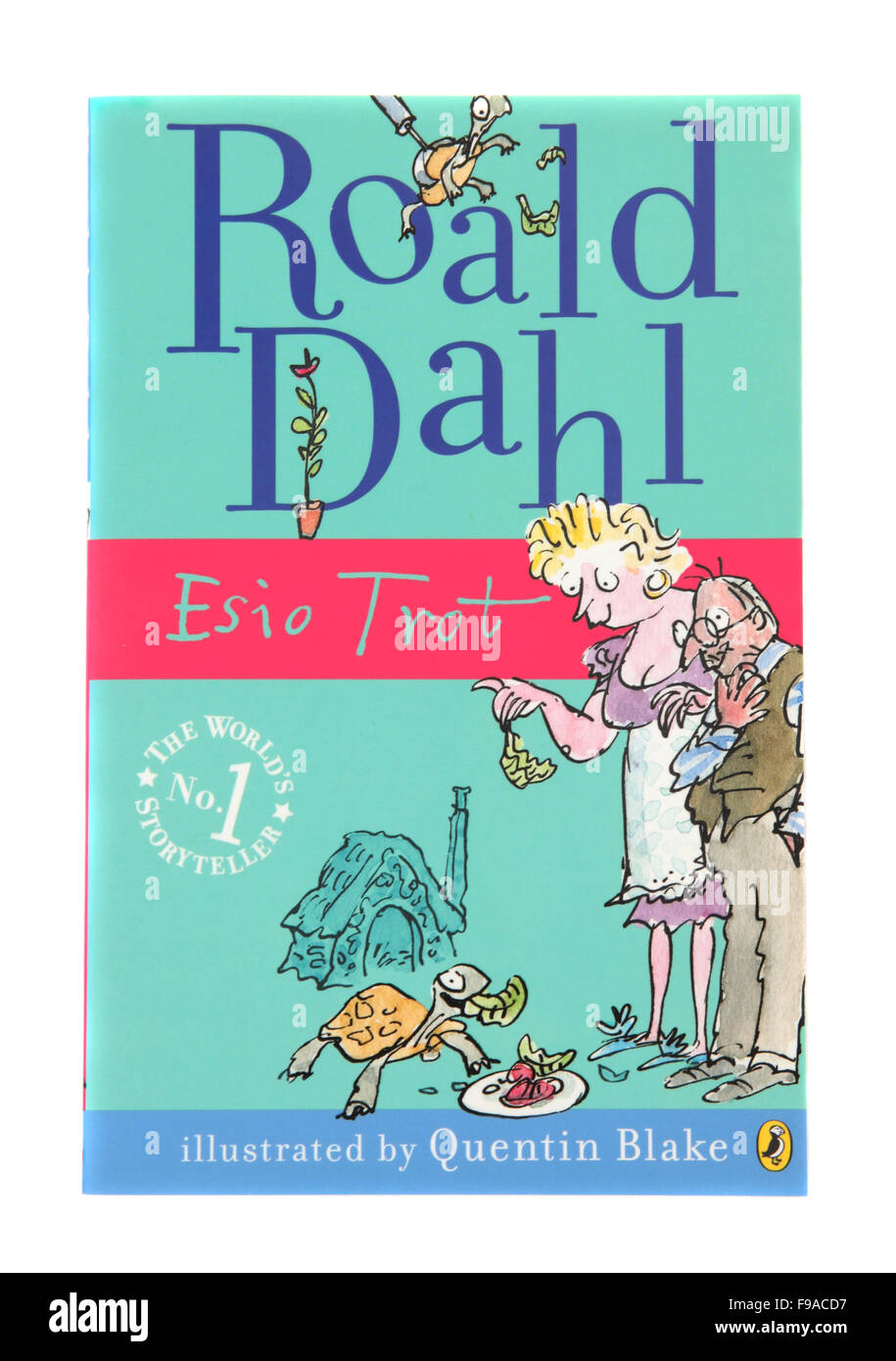 Esio Trot, a children's book by Roald Dahl Stock Photo, Royalty ...