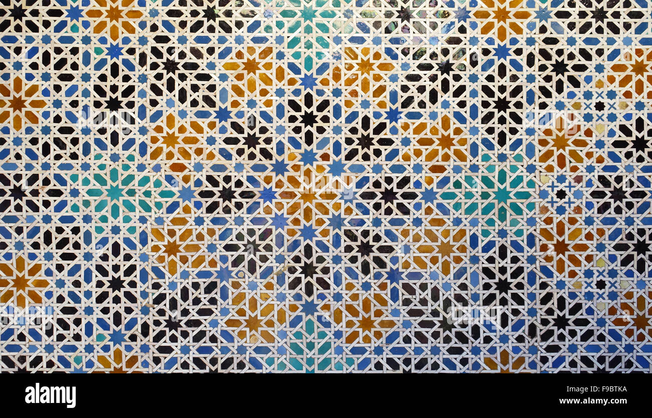 Decorations In Spain Tile Decorations In Real Alcazar Palace Seville Andalusia Spain