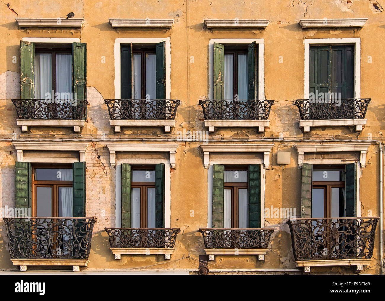 Italy Building Exterior Shutters Windows Stock Photos & Italy ...