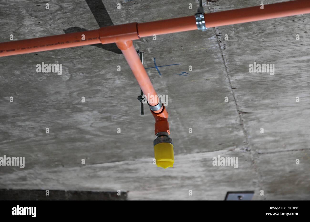 fire sprinkler install