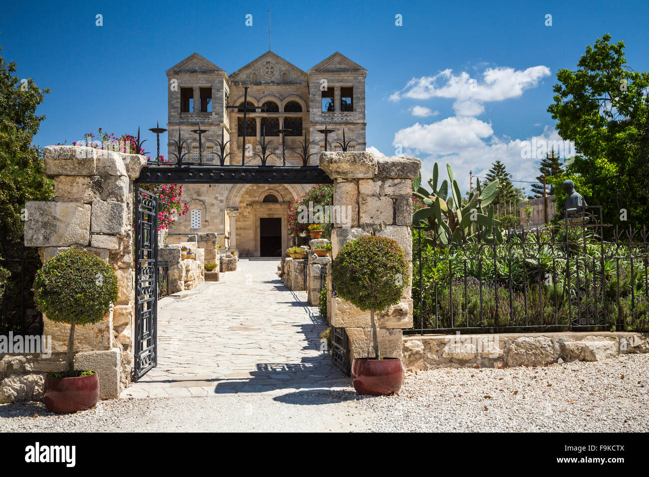 The Franciscan Church of the Transfiguration on Mount ...