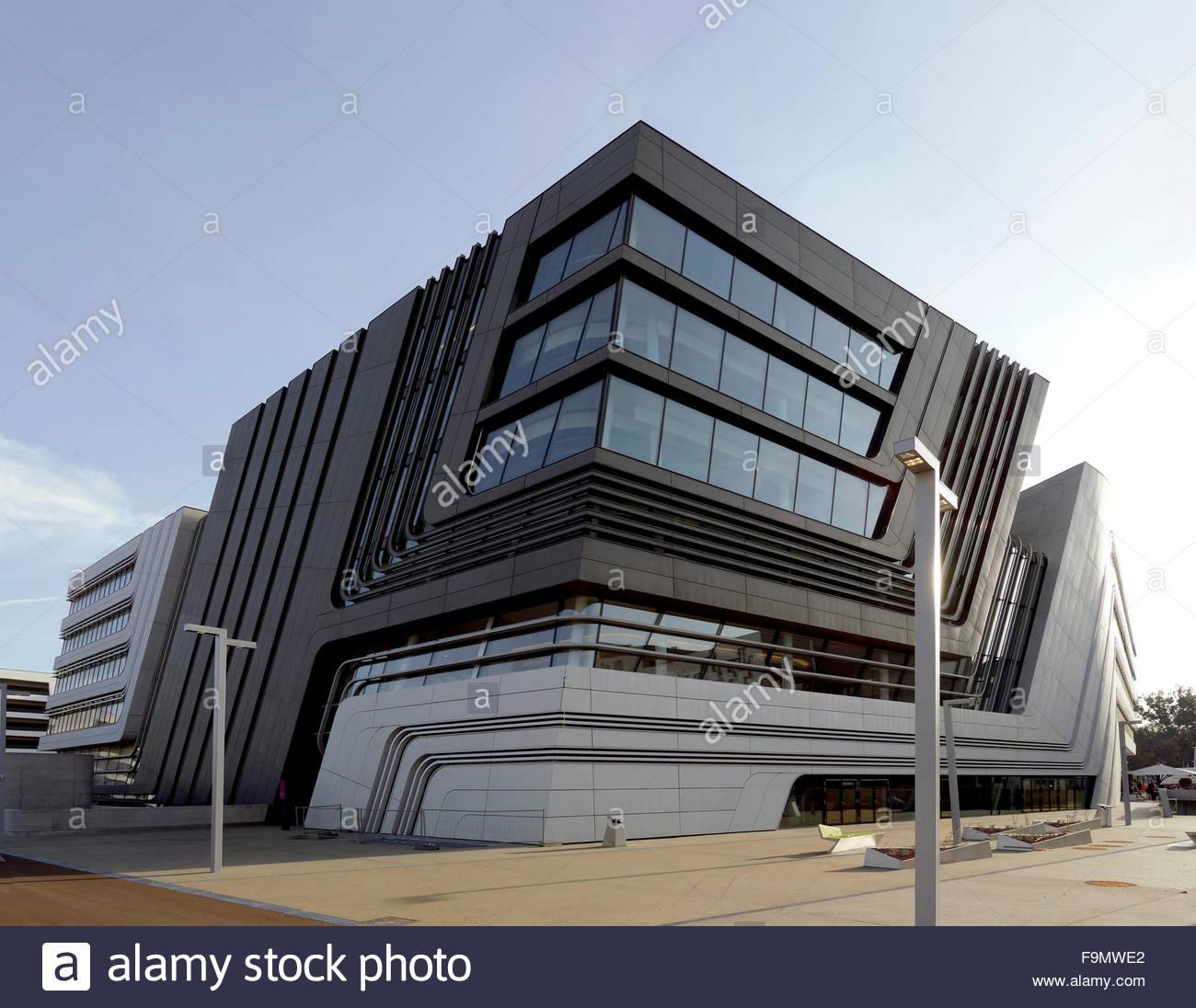 Library campus wu vienna a building by zaha hadid on for Zaha hadid vienna