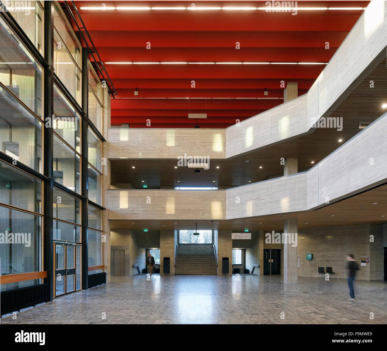 Erasmus University Rotterdam Woudestein Complex Redevelopment The Interior Of A Building On Campus